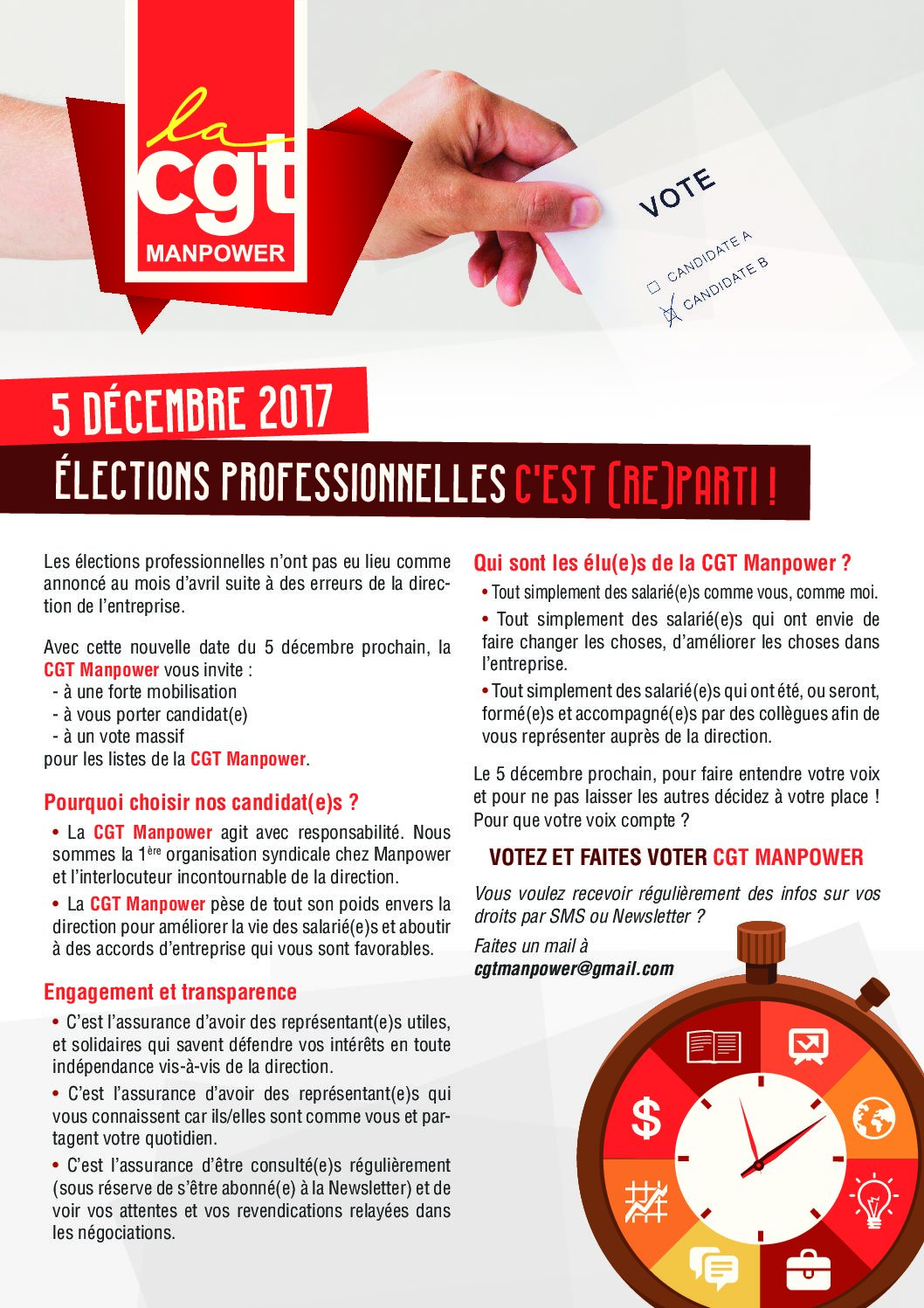 Elections Themes Du Tract Tractotheque